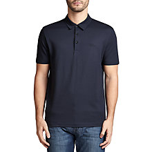 Buy BOSS Green C-Panova Polo Shirt, Navy Online at johnlewis.com