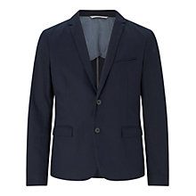 Buy BOSS Orange Benestretch Slim Fit Blazer, Dark Blue Online at johnlewis.com