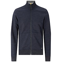 Buy BOSS Orange Z-Pandau Sweat Jacket, Dark Blue Online at johnlewis.com