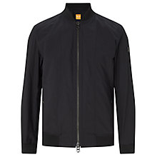 Buy BOSS Orange Oruce Lightweight Bomber Jacket, Black Online at johnlewis.com