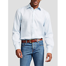 Buy Thomas Pink Wallace Classic Fit Linen Check Shirt Online at johnlewis.com