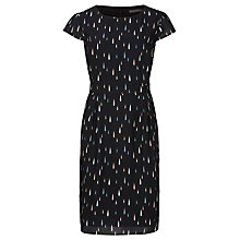 Buy Sugarhill Boutique Zandra Raindrop Shift Dress, Black/Pastel Online at johnlewis.com