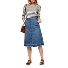 Buy Gerard Darel Jane Skirt, Blue Online at johnlewis.com