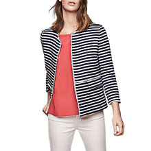 Buy Gerard Darel Vince Stripe Jacket, Blue Online at johnlewis.com
