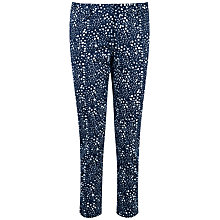 Buy Pure Collection Juliana Capri Trousers, Brushed Spot Print Online at johnlewis.com