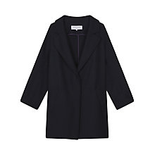 Buy Gerard Darel Maddie Coat, Navy Blue Online at johnlewis.com