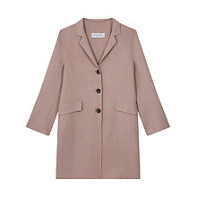 Buy Gerard Darel Mae Coat, Sand Online at johnlewis.com