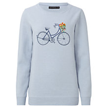 Buy Sugarhill Boutique Floral Bicycle Sweatshirt, Blue/Multi Online at johnlewis.com