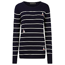 Buy Sugarhill Boutique Sail Away Jumper, Navy Online at johnlewis.com