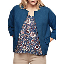 Buy Gerard Darel Jac Jacket, Blue Jeans Online at johnlewis.com