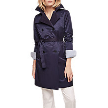 Buy Gerard Darel Marin Trench, Navy Blue Online at johnlewis.com