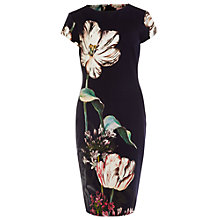 Buy Phase Eight Marguerite Print Dress, Multi Online at johnlewis.com