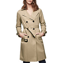 Buy Gerard Darel Mischa Trench Coat, Sand Online at johnlewis.com