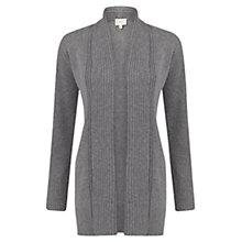 Buy East Edge To Edge Cardigan, Ash Online at johnlewis.com