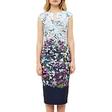 Buy Ted Baker Tiha Entangled Enchantment Bodycon Dress, Dark Blue Online at johnlewis.com