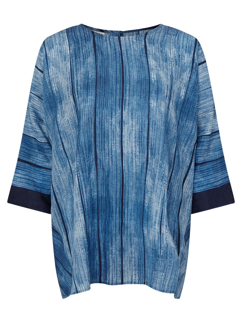 East East Shibori Button Top, Indigo