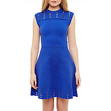 Buy Ted Baker Zaralie Jacquard Cut-Out Dress Online at johnlewis.com