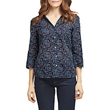 Buy East Naomi Print Shirt, Ink Online at johnlewis.com