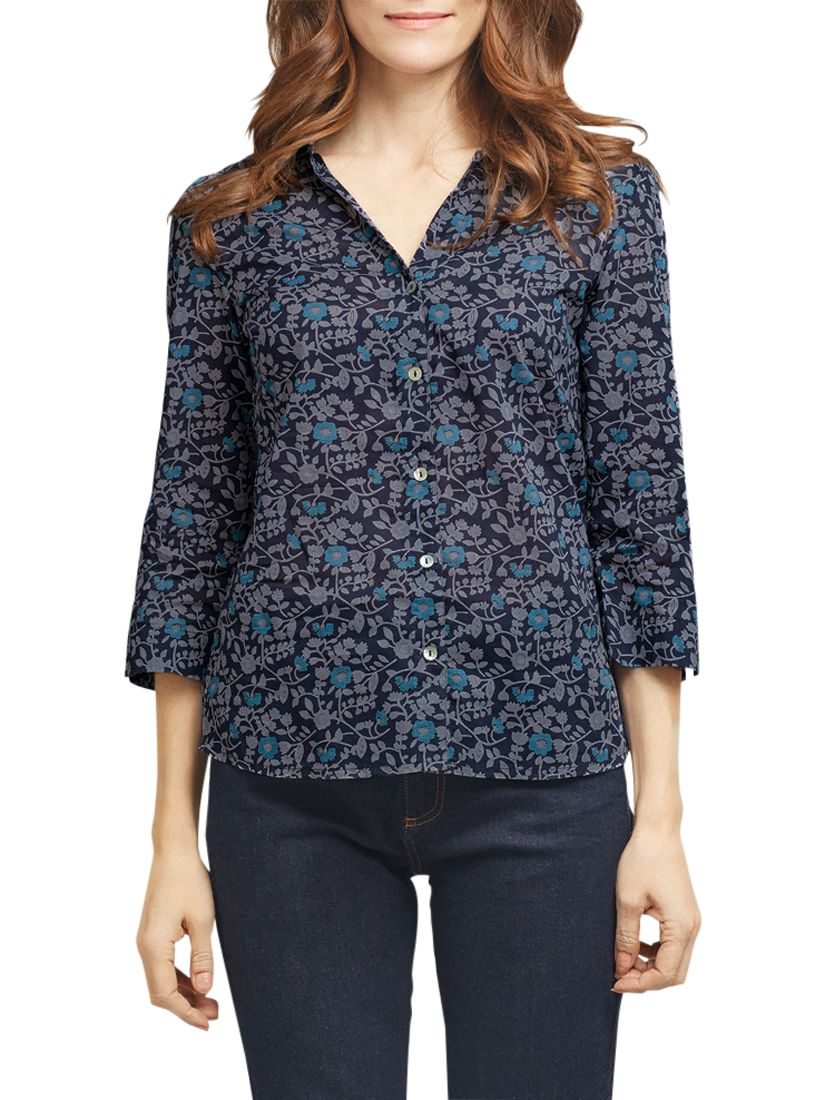 East East Naomi Print Shirt, Ink