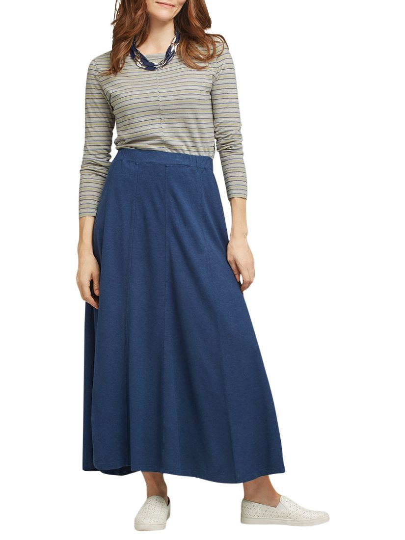 East East Hemp Cotton Skirt, Indigo
