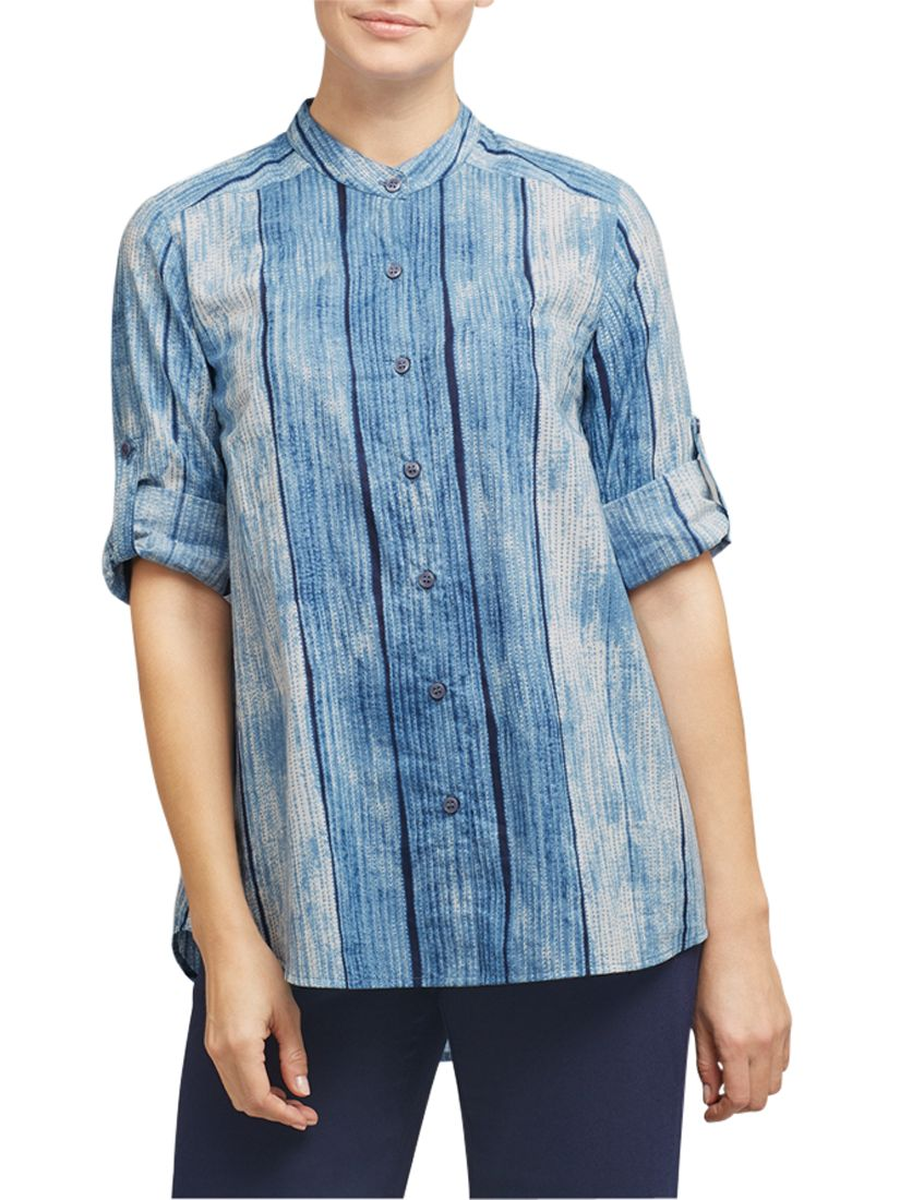 East East Shibori Pocket Shirt, Indigo