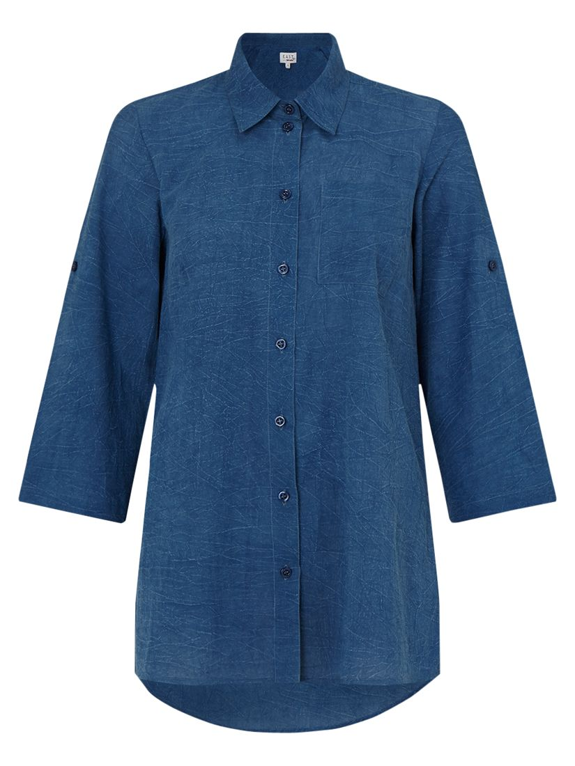 East East Pocket Detail Shirt, Indigo