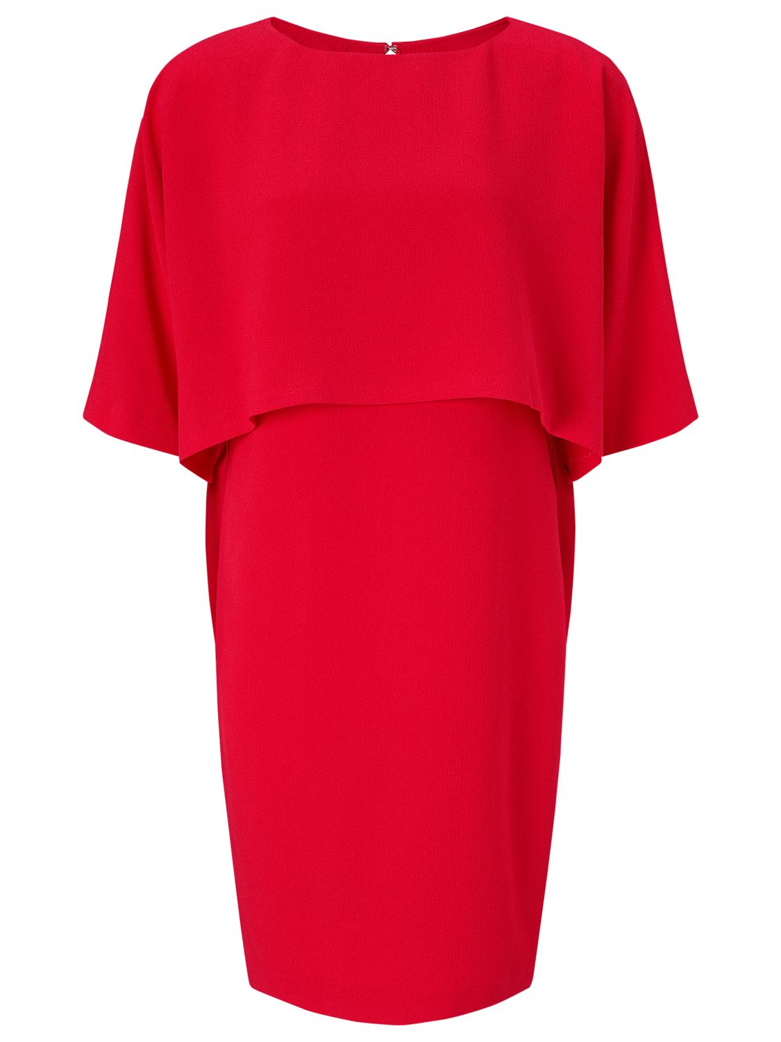 Adrianna Papell Adrianna Papell Draped Blouson Sheath Dress, Lipstick Red