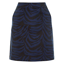 Buy Warehouse Zebra Jacquard Skirt, Multi Online at johnlewis.com