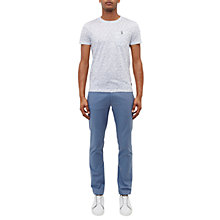 Buy Ted Baker Clydesy Trousers, Blue Online at johnlewis.com