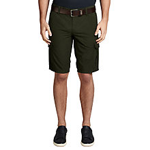 Buy BOSS Orange Schwinn Shorts, Dark Green Online at johnlewis.com