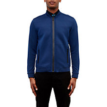 Buy Ted Baker Ace Bomber Jacket, Dark Blue Online at johnlewis.com
