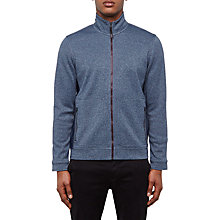 Buy Ted Baker Majtape Funnel Neck Full Zip Jumper, Navy Online at johnlewis.com
