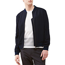 Buy Jigsaw Italian Seersucker Wool Bomber Jacket Online at johnlewis.com