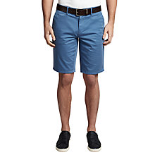 Buy BOSS Orange Schino-Slim 1-D Slim Fit Chino Shorts, Open Blue Online at johnlewis.com