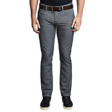 Buy BOSS Orange Orange63 Slim Fit Jeans, Medium Blue Online at johnlewis.com