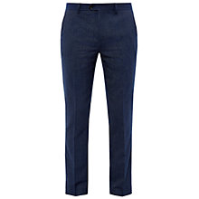 Buy Ted Baker Wingtro Modern Fit Trousers, Bright Blue Online at johnlewis.com