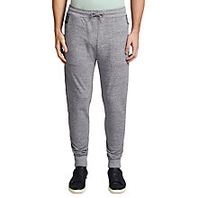 Buy BOSS Orange Shines Tracksuit Jogging Bottoms, Light Pastel Grey Online at johnlewis.com