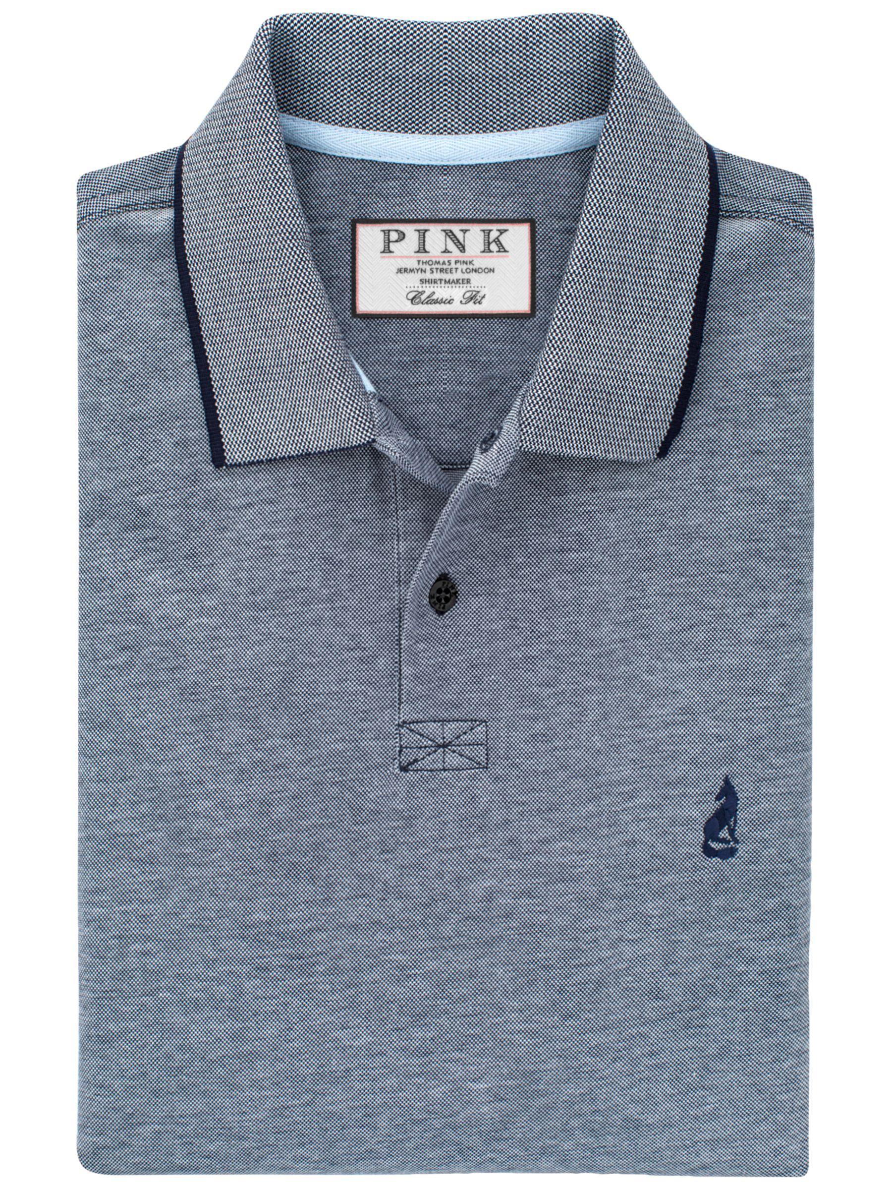Thomas Pink Thomas Pink Birch Plain Classic Fit Polo Shirt