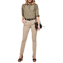 Buy Gerard Darel Pino Trousers, Sand Online at johnlewis.com