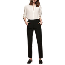 Buy Gerard Darel Preston Trousers, Black Online at johnlewis.com