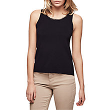Buy Gerard Darel Ashley Knitted Tank Top, Navy Blue Online at johnlewis.com