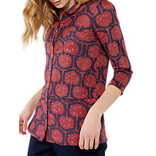 Buy White Stuff Tree Print Shirt, Clay Red Online at johnlewis.com