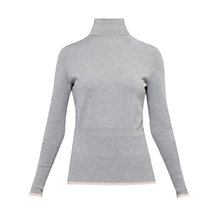 Buy Ted Baker Colour By Numbers Aggi Tipped Roll Neck Jumper Online at johnlewis.com