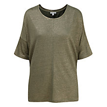 Buy Pure Collection Relaxed Top Online at johnlewis.com