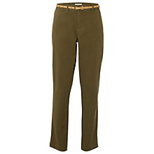 Buy White Stuff Petro Chino Trousers, Khaki Online at johnlewis.com