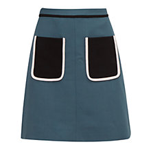 Buy Ted Baker Colour By Numbers Naira Modern Contrast Pocket Detail Skirt Online at johnlewis.com