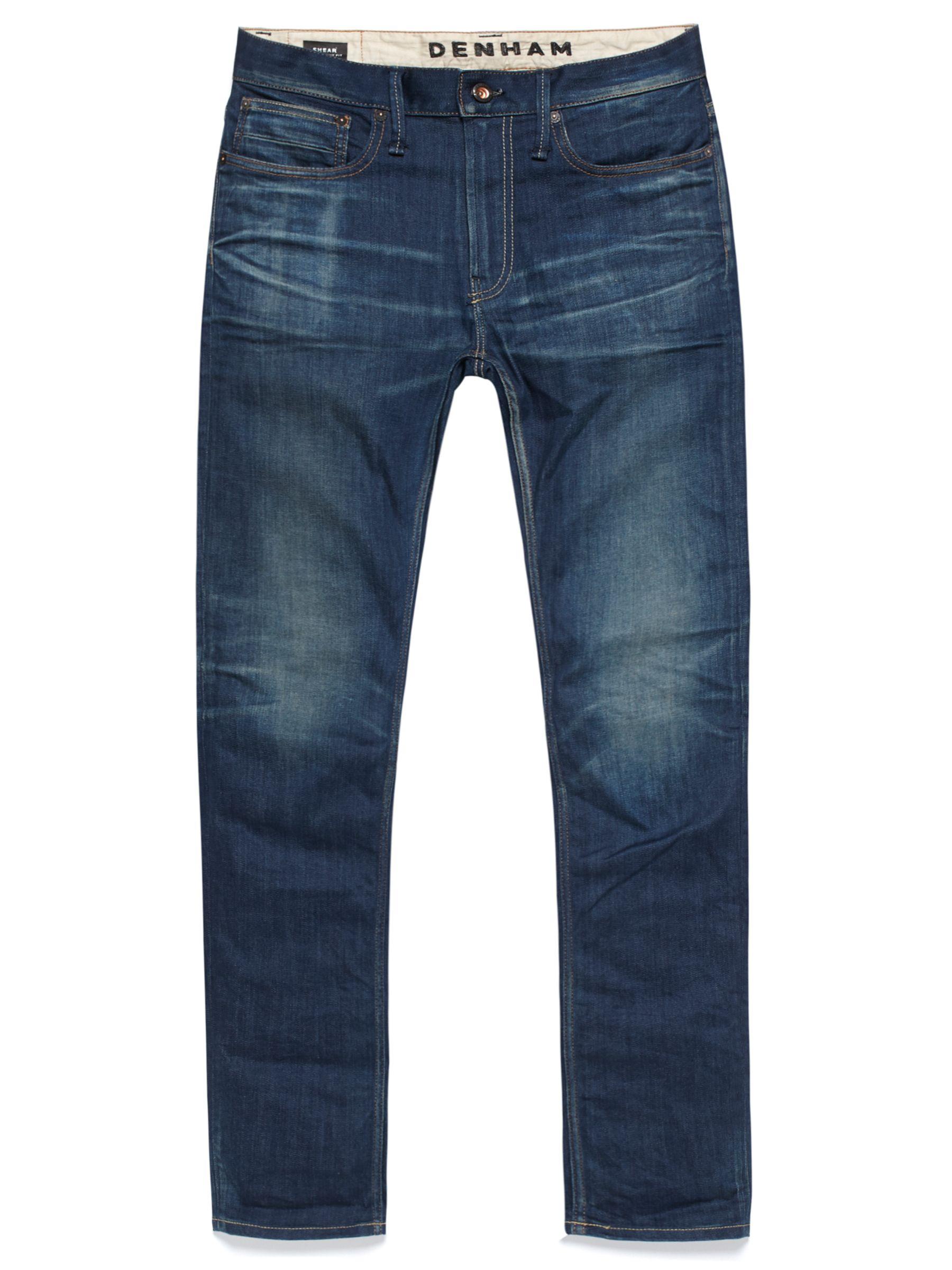 Denham Denham Razor Slim Fit Jeans, Blue Fade