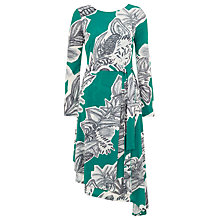 Buy Finery Hallam Scribble Collage Jersey Dress, Multi Online at johnlewis.com