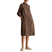 Buy Toast Leh Printed Shirt Dress, Rosewood Online at johnlewis.com