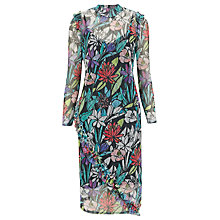 Buy Finery Lavender Waterlilies Lace Dress, Multi Online at johnlewis.com